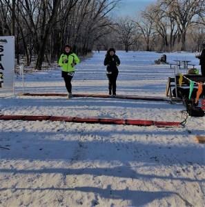 snowshoe race: 2018 Mendota 5K