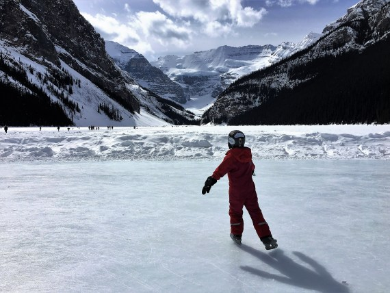 Lake Louise, Alberta- Ice Skating