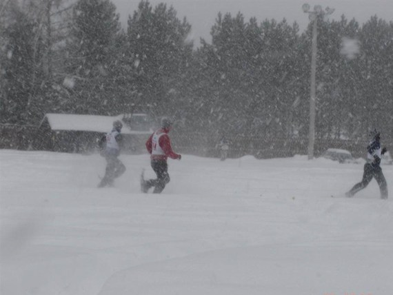 racing in snow at ESWG 2006