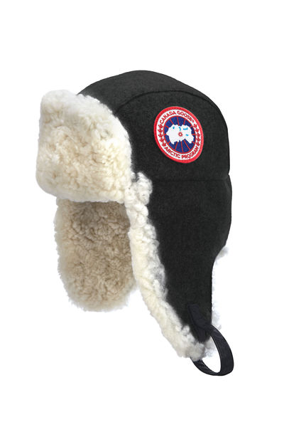 The Merino Wool shearling pilot hat from Canada Goose.