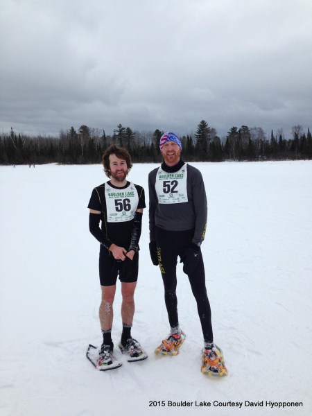 After their epic battle: Nygaard and Mortenson