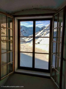 6 Jan 2015 - inside the Hospice du Grand-Saint-Bernard, Swiss Alps