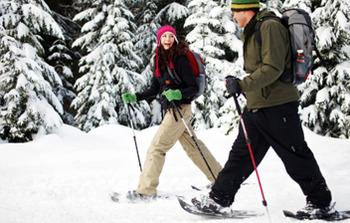 Crystal Mountain Snowshoeing