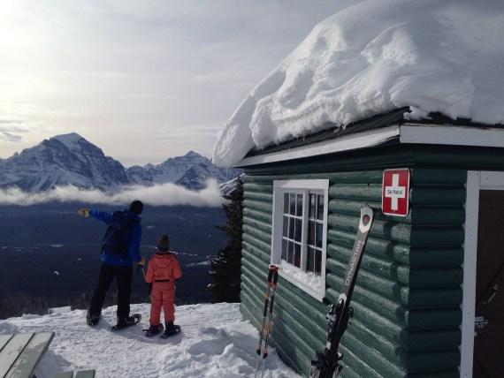 backcountry cabin at Lake Louise Ski Resort, AB