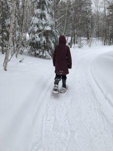 Wisconsin, snowshoeing with Kahtoola navagaiter