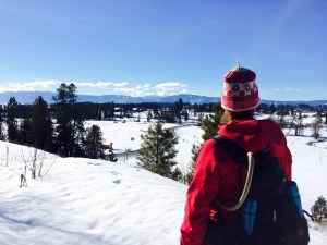 Overlooking the Jug Mountain Ranch nordic center.