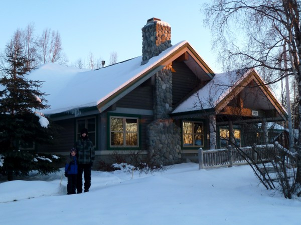 Talkeetna's National Park Service ranger station provides weekend support for outdoor enthusiasts during the winter months.