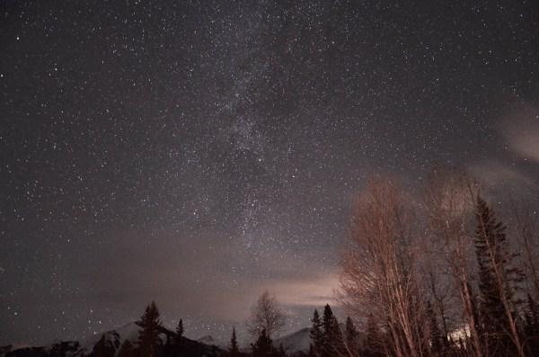 Stargazing in Kananaskis
