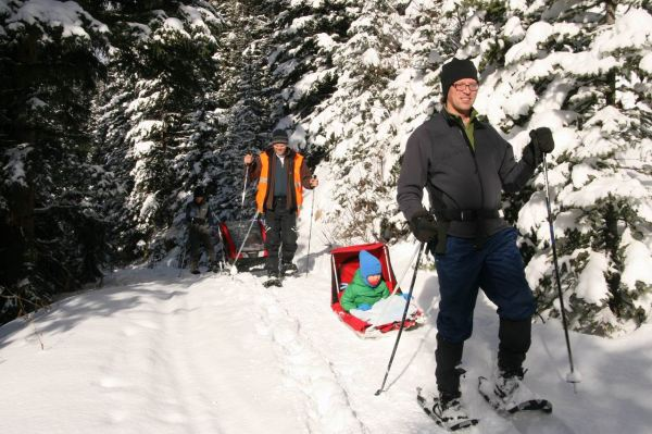 Sleds in the backcountry