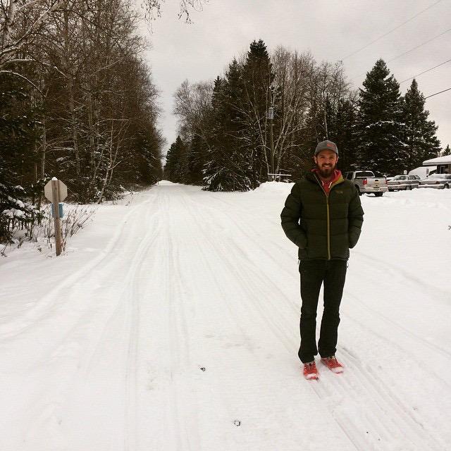 Jared Vanderhook Runs Tuscobia 75 Miles Winter Endurance