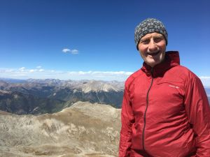 Steve on top of Mt. Princeton