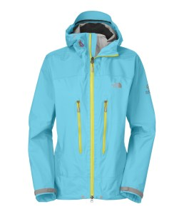 Bring on the weather with The North Face women's Meru Gore-Tex hard shell jacket.