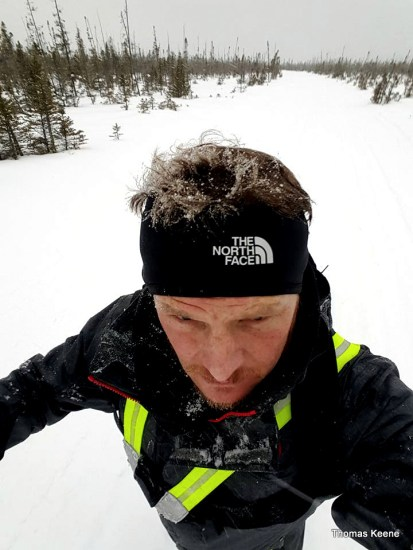 Tennessee's winter endurance racer, Thomas Keene, captures another finish two weeks after Tuscobia's.