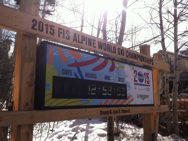 2015 Alpine World Championships in Beaver Creek. Photo by Kim Fuller.