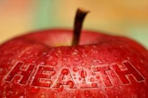 WA apple w health on it