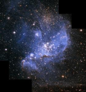 Infant Stars in the Small Magellanic Cloud courtesy of hubblesite.org