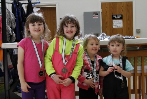 jazz trax 2016 four little girl finishers