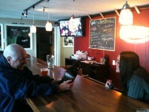 The tasting room at Payette Brewing Co.