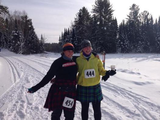 snowshoe 2015 Moose tracks 10k WI