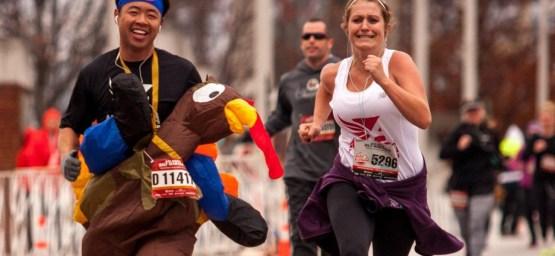 Take a turkey on the run and enhance the fun like in Atlanta.