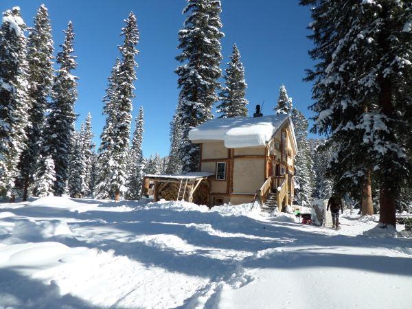 High Lonesome Hut in Fraser, Colorado.
