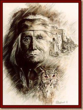 Zuni Elder (Copyright Sonja Boekhorst)