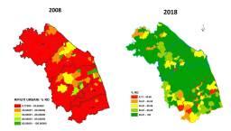 Raccolta differenziata nelle Marche 2008-2018