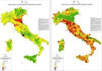 Dissesto idrogeologico in Italia, i dati nel Rapporto Ispra