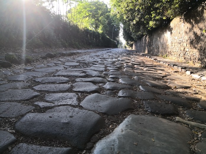 Appia Antica in bicicletta