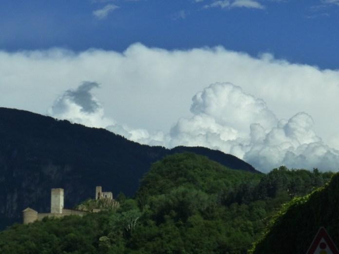 Castel Firmiano (Bolzano), temporale in arrivo?