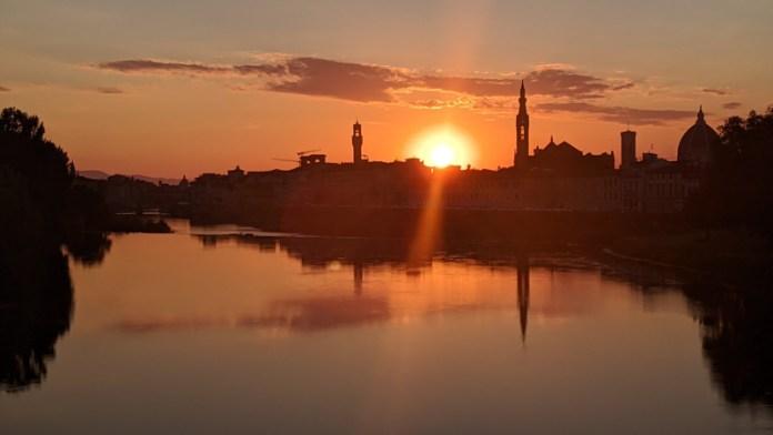 Meno inquinamento = tramonti mozzafiato