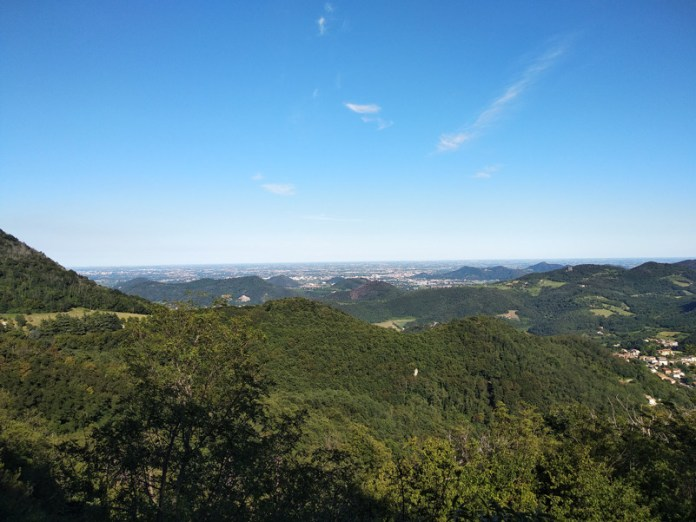 Vista dai Colli Euganei