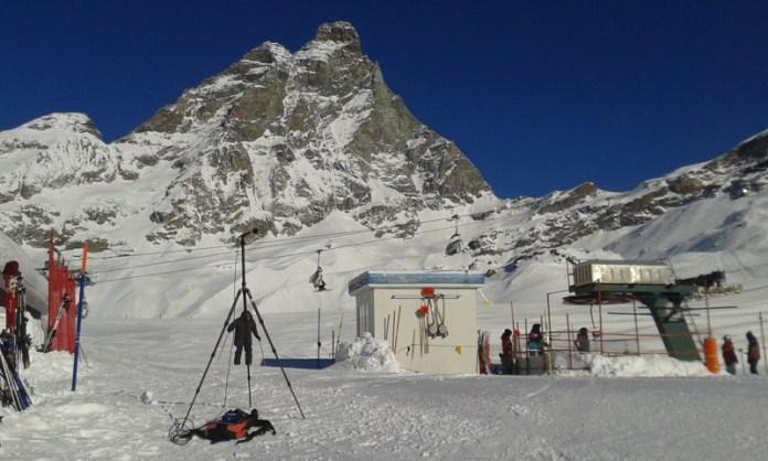 Fonometria ai piedi del Monte Cervino