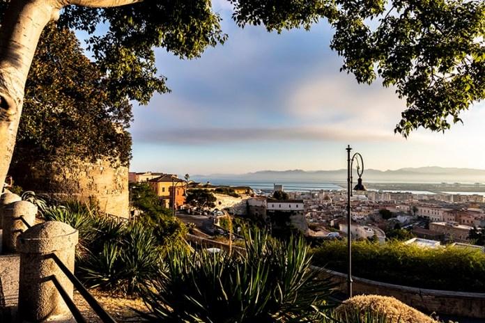 Scorcio di Cagliari da Castello