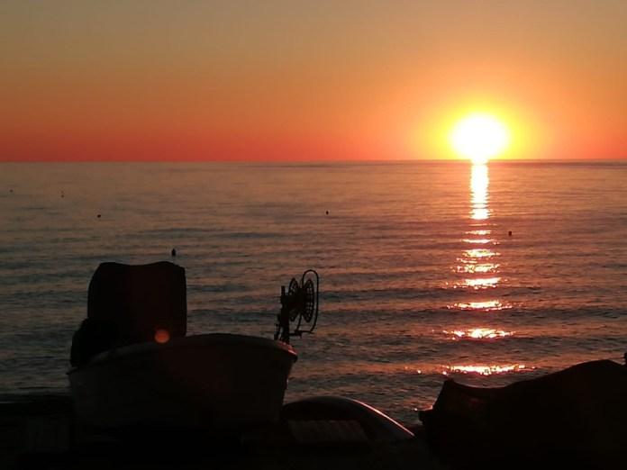 L'alba a Portonovo
