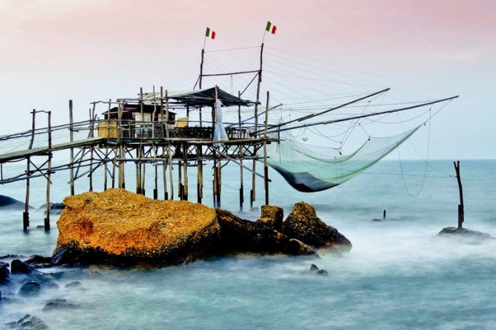 La costa dei Trabocchi - Patrimonio Unesco