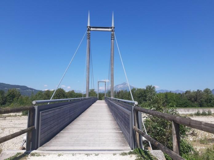 Ponte di legno, Lago di Santa Croce, Farra di Alpago