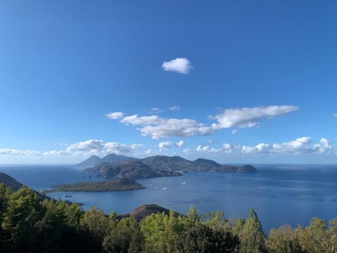 Isole Eolie - Panorama da Capo Grillo