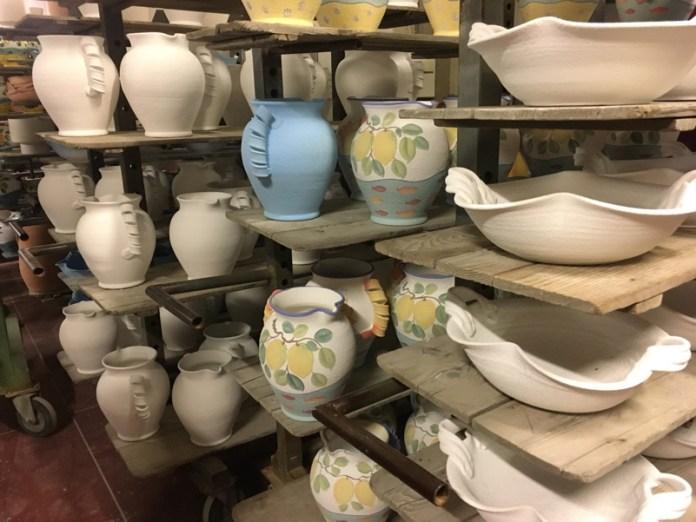Ceramiche artistiche produzione