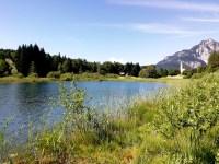Il lago di Favogna in Alto Adige
