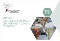 Rapporto sugli indicatori di impatto dei cambiamenti climatici. Edizione 2021