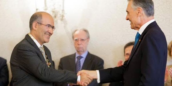 Presidente da República condecorou José Tolentino Mendonça