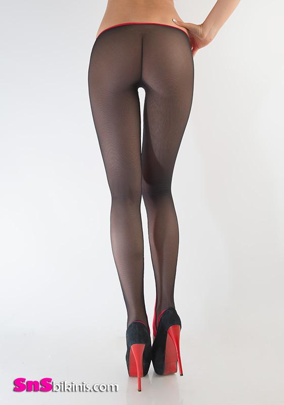 YVETTE Sexy Translucent Legging YYABIG001  6400