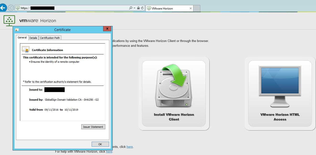 Deploy Vmware Euc Access Point With Wildcard Ssl Certificates For