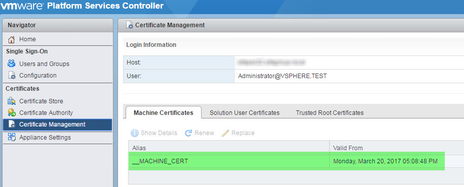 Replace Ssl Certificates On Vmware Psc V65 Ian0x0r Snurf