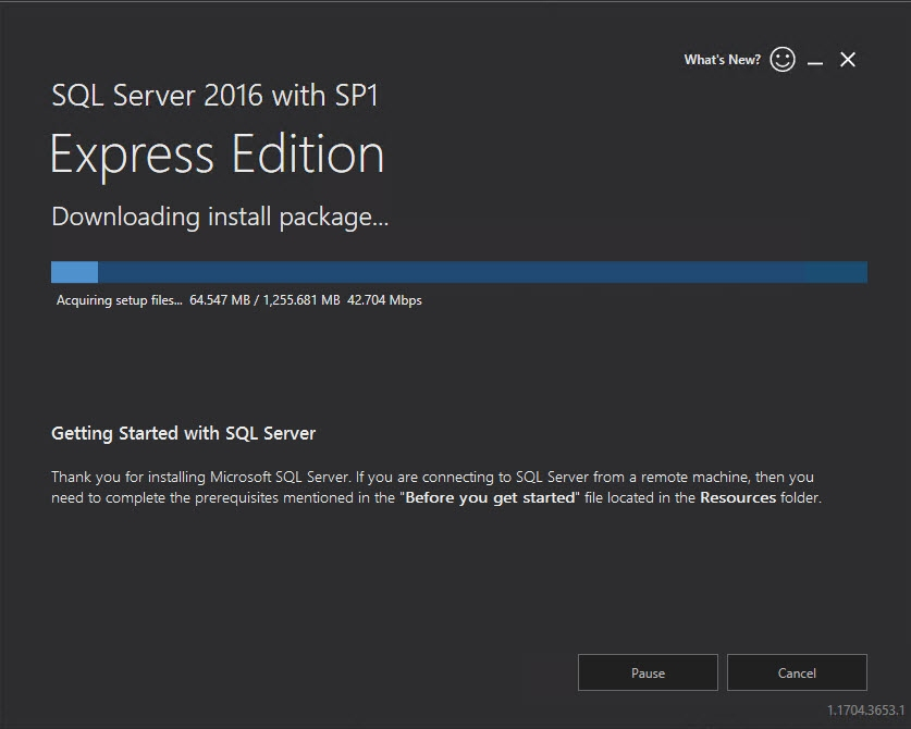 Veeam - Upgrade to SQL Express 2016 SP1 for improved performance