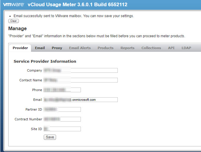 vCloud Usage Meter - Relay mail via Office 365 | @Ian0x0r