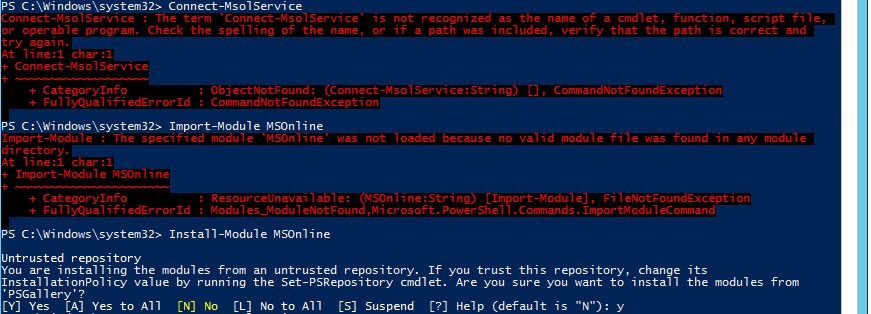 How to install Azure AD PowerShell modules | @Ian0x0r - SNURF