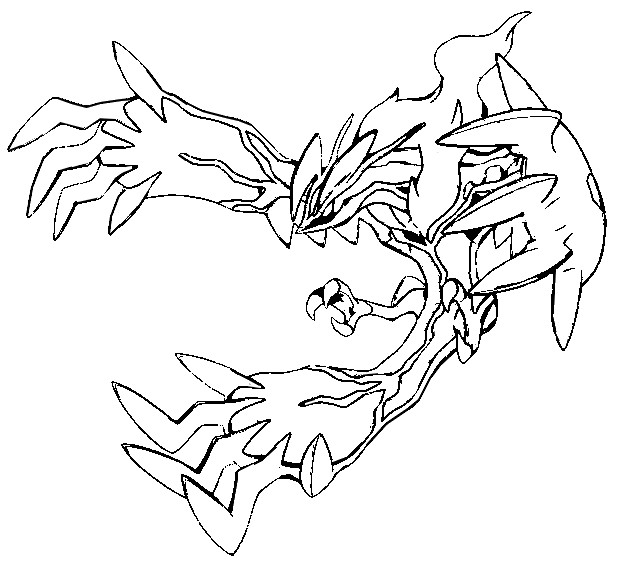 dessin de yveltal