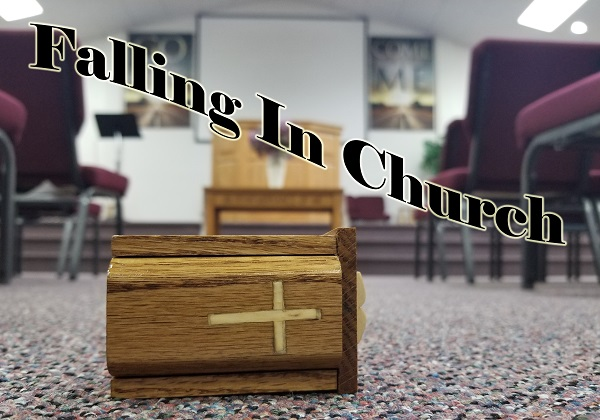 The Wandering Pulpit – Falling in Church